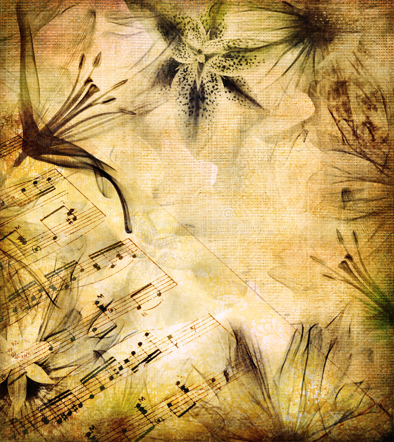 Romantic melody royalty free stock images