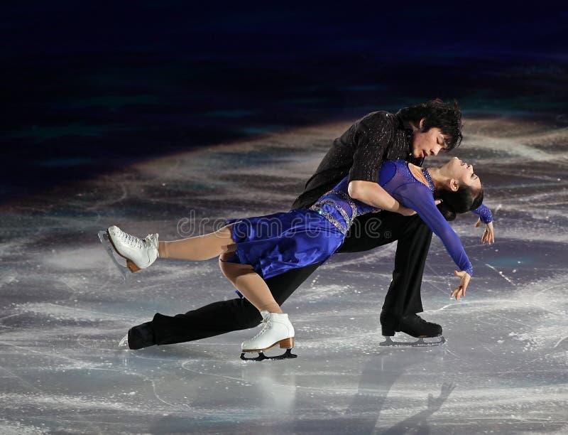 Romantic performance royalty free stock photography