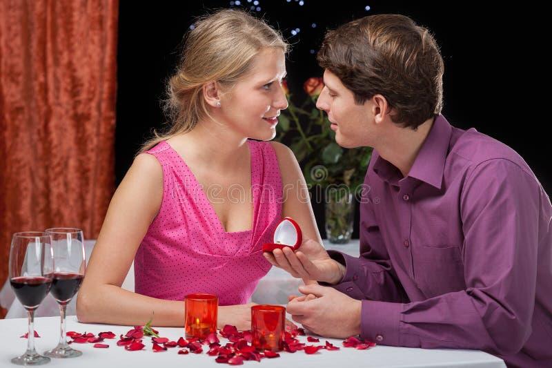 Download Romantic proposal stock photo. Image of elegant, propose - 36080232