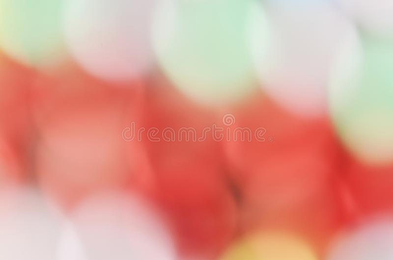 Romantic Red pink Bokeh light abstract backgrounds stock image