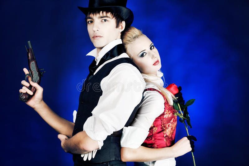 Download Romantic relations stock image. Image of costume, love - 13015613