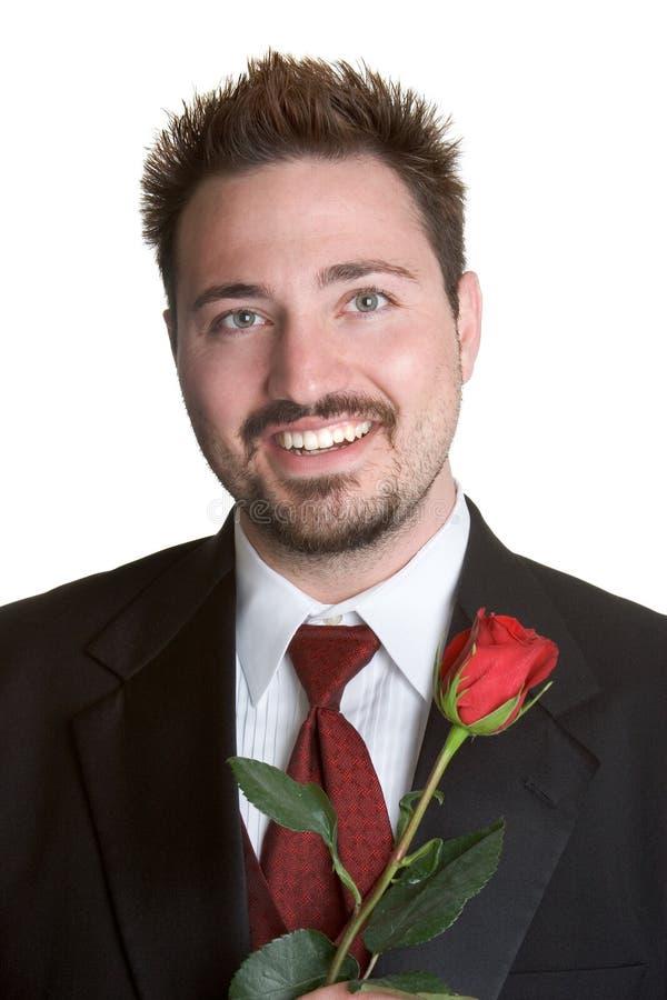 Free Romantic Rose Man Stock Photos - 2679603
