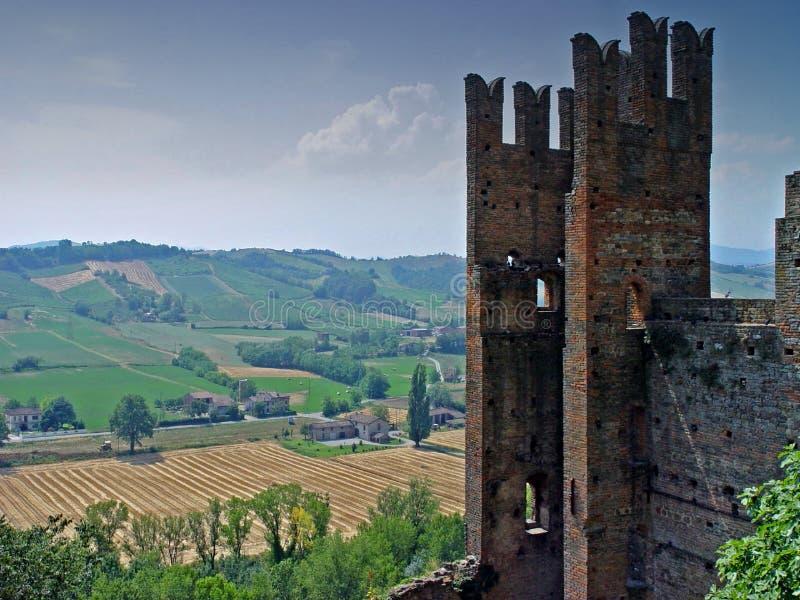 Romantic Ruins Royalty Free Stock Photography