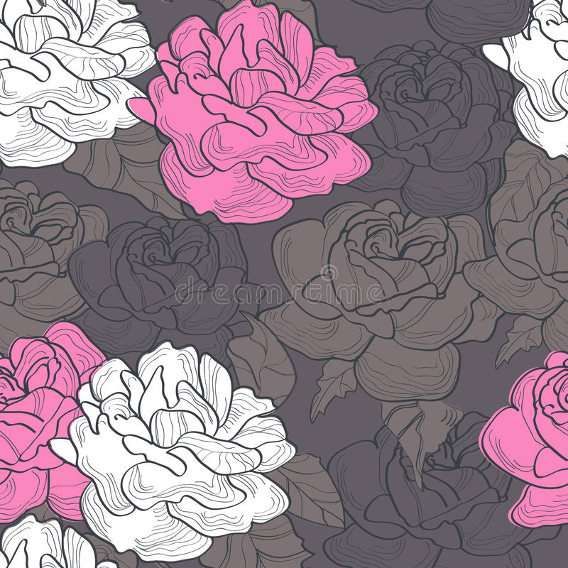 Download Romantic seamless pattern stock vector. Image of pattern - 14161474