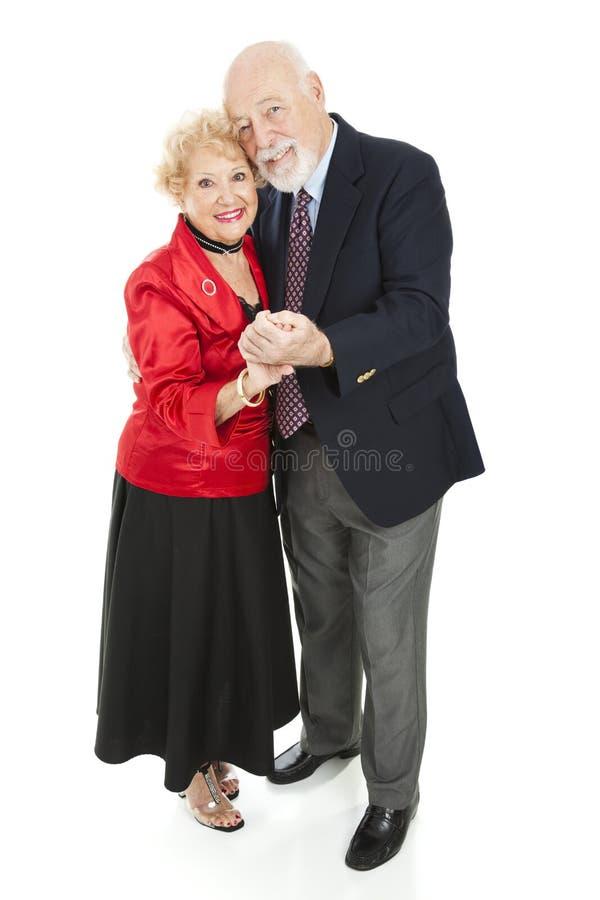 Romantic Seniors Dancing Royalty Free Stock Photo