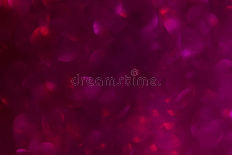 Romantic soft pink red bokeh background stock photography