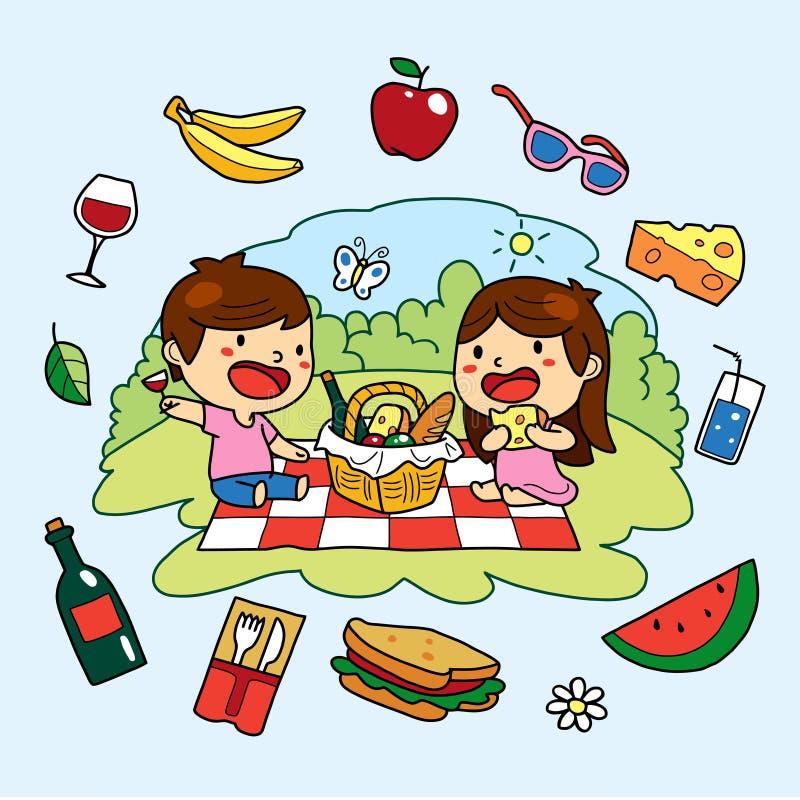 Summer Picnic Clip Art Stock Illustrations – 470 Summer ...