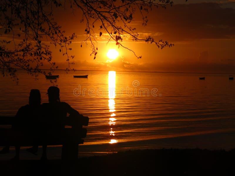 Download Romantic Sunset stock image. Image of sunrise, retirement - 36974995