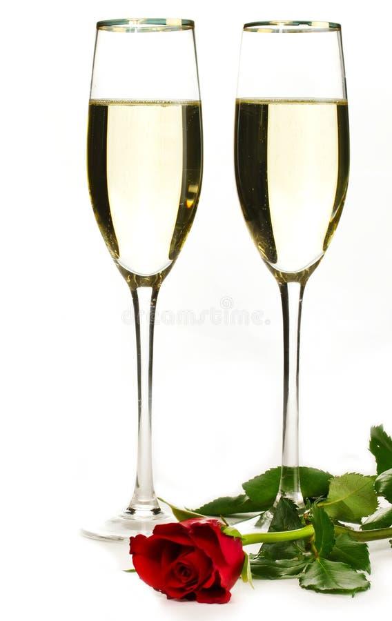 Romantic suprise stock image