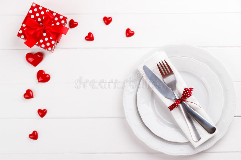 Download Romantic table setting stock photo. Image of restaurant - 83709218