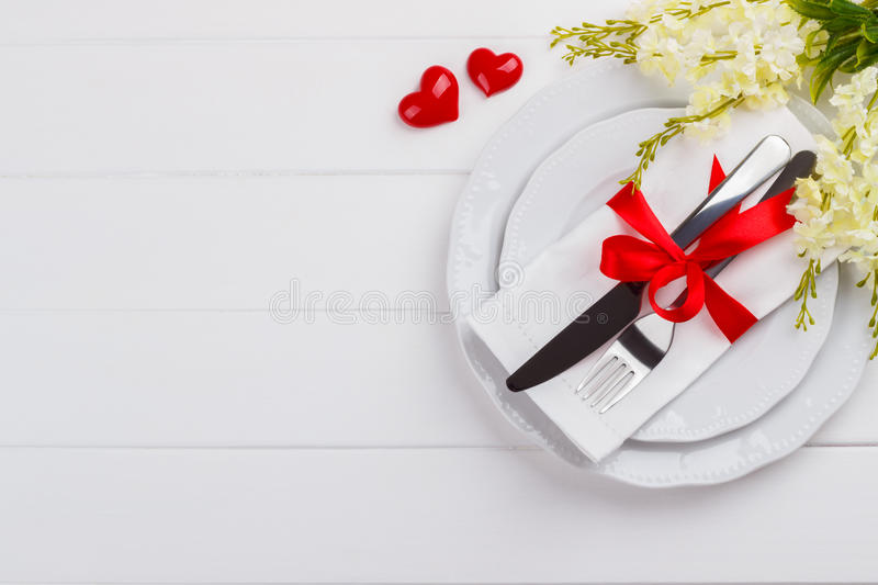 Download Romantic table setting stock image. Image of concept - 83710623
