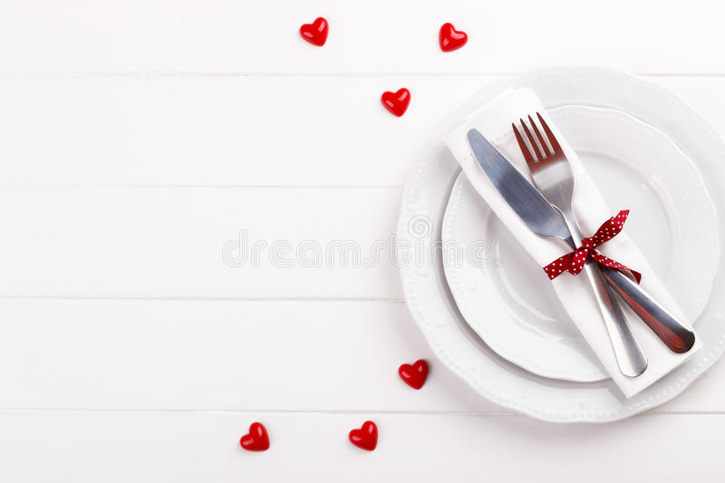 Download Romantic table setting stock photo. Image of closeup - 83719742