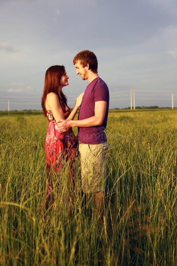Romantic Teenage Couple Stock Photo Image Of Romantic