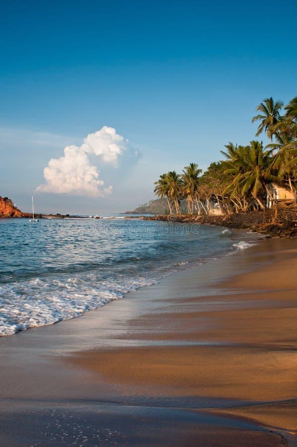 Romantic Tropical Beach Royalty Free Stock Photos