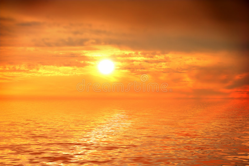 Download Romantic tropical sunset stock photo. Image of pacific - 3951932