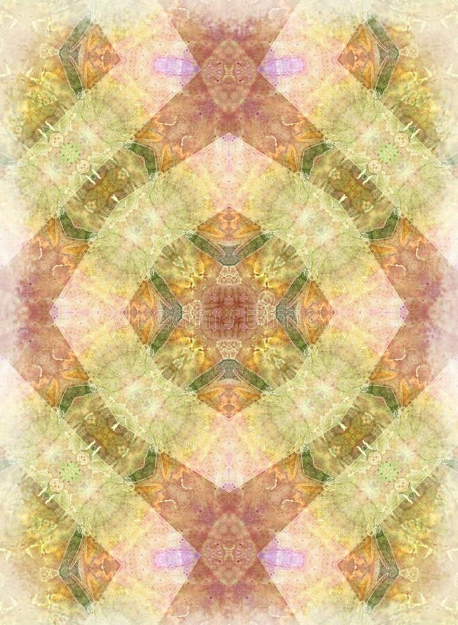 Romantic Vintage Quilt Pattern Texture royalty free stock image