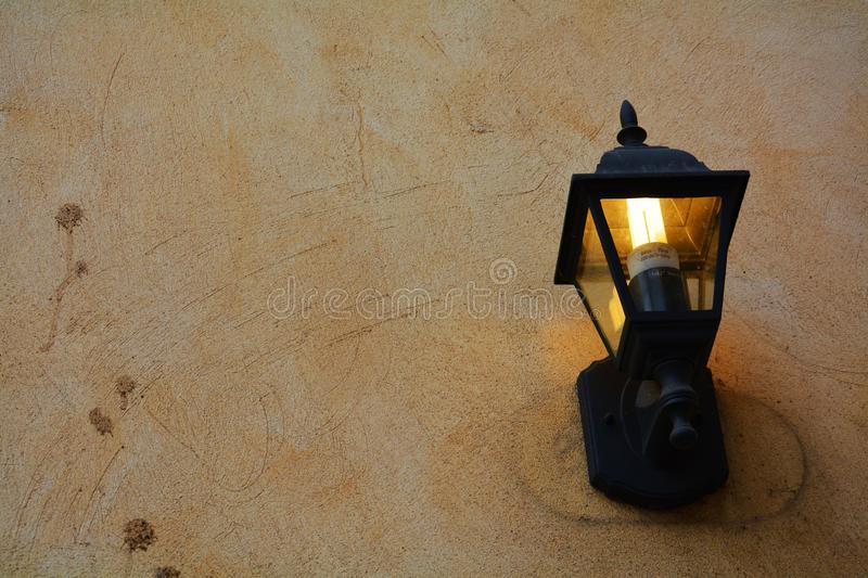 Romantic wall-mounted light stock images