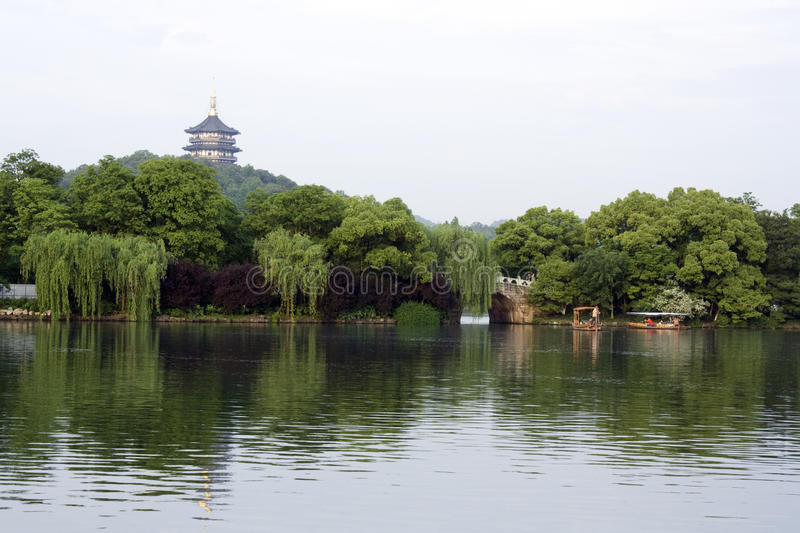 Download The romantic West Lake stock photo. Image of calm, heritage - 26489988