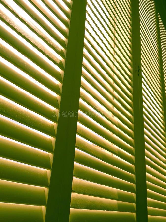 Romantic window with the sun light thru stock images