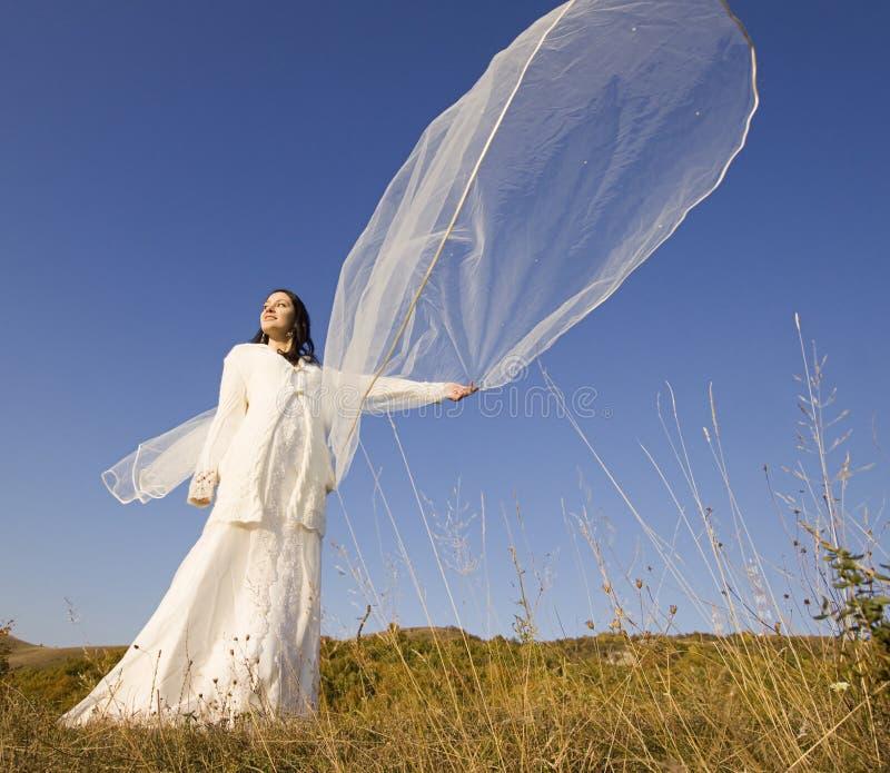 Romantic woman stock photography