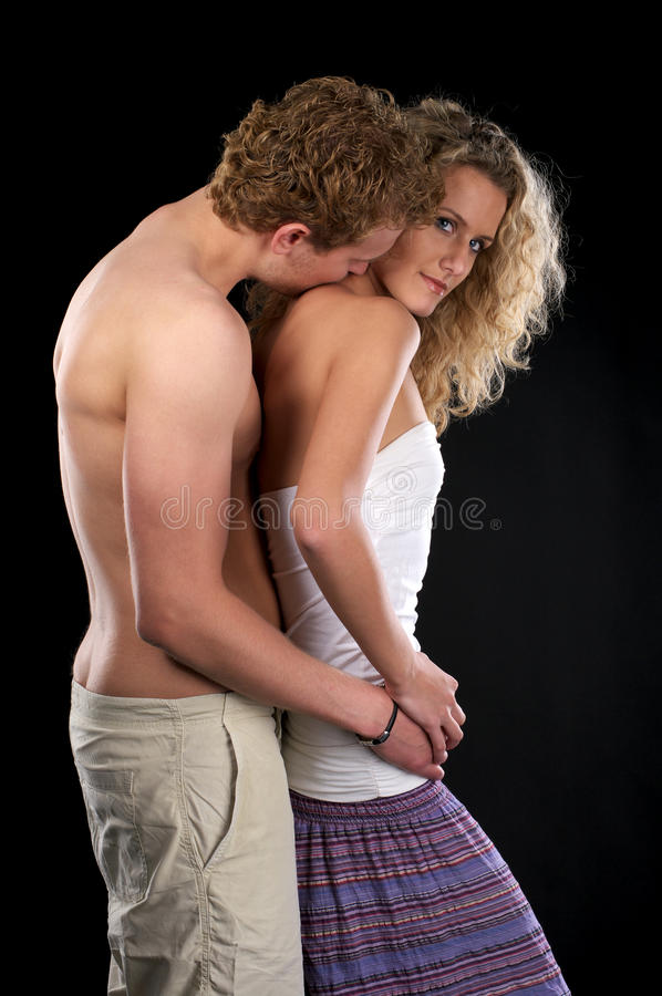 Download Romantic young couple stock image. Image of casual, couple - 14854755