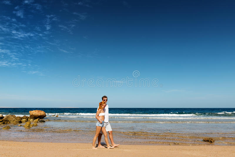 Download Romantic Young Couple On The Beach Stock Photo - Image: 29576582