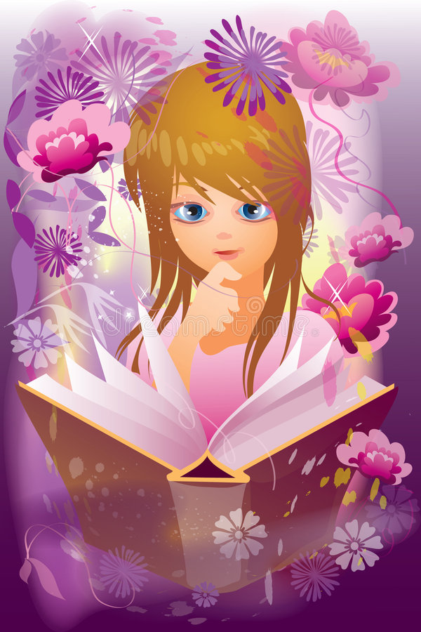 Romantically stock illustration