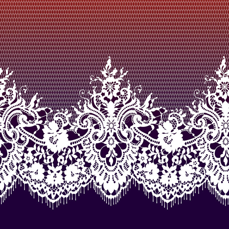 Romantiker snör åt den sömlösa modellen royaltyfri illustrationer