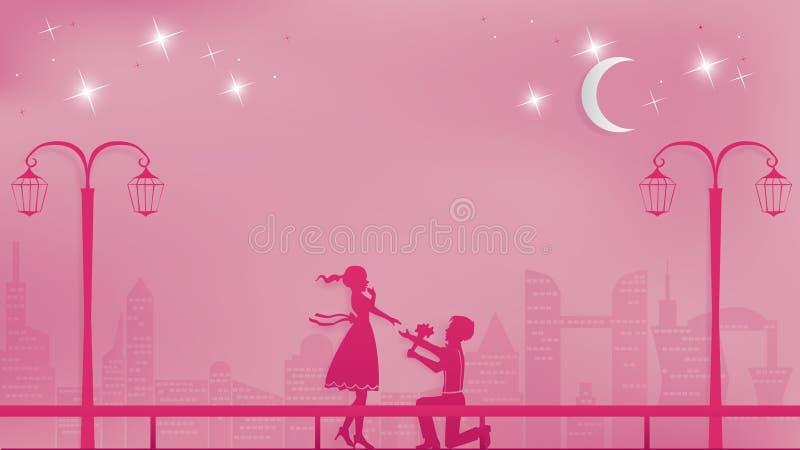 Romantisch document kunstconcept of document scherpe stijl vector illustratie