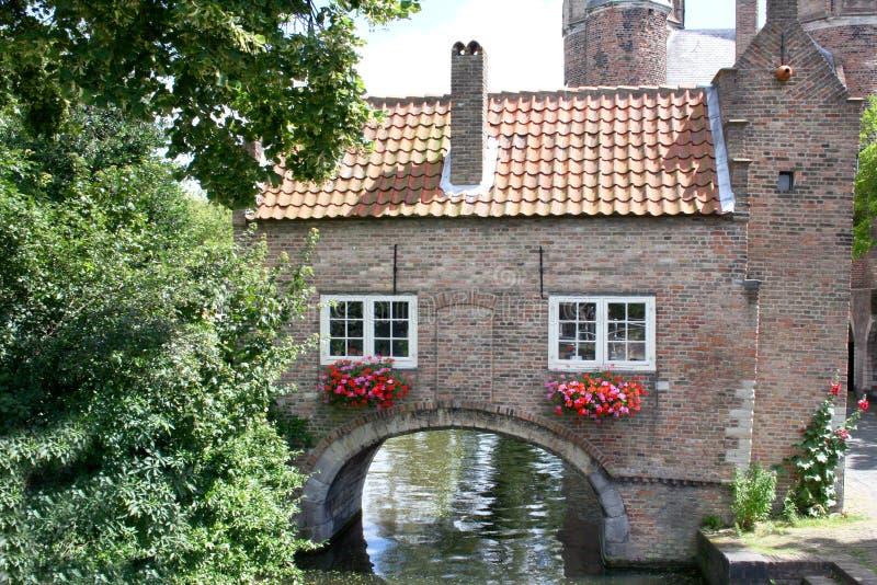 Romantisch huis stock fotografie