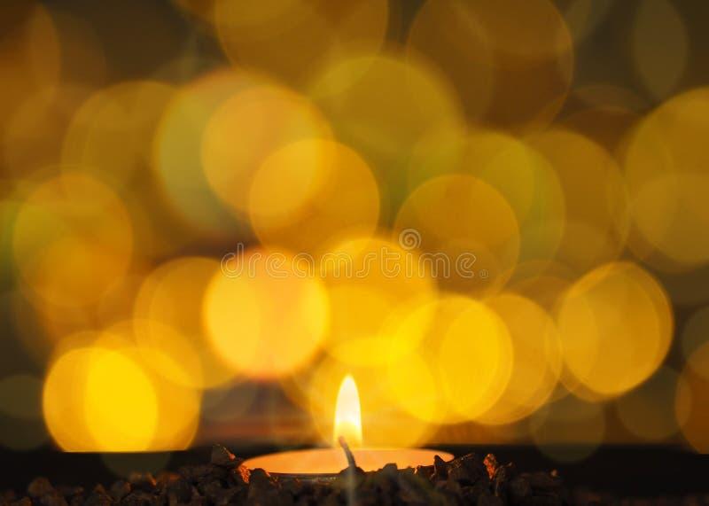 Romantisch Kaarslicht royalty-vrije stock foto
