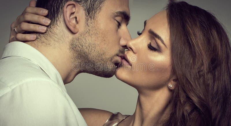 Romantisch paar royalty-vrije stock fotografie