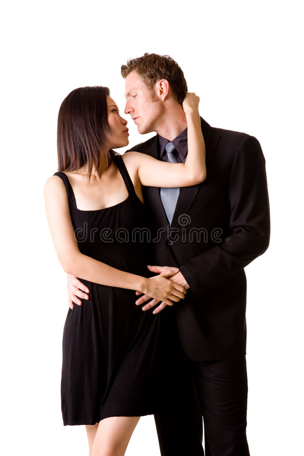 Romantisch paar stock afbeeldingen