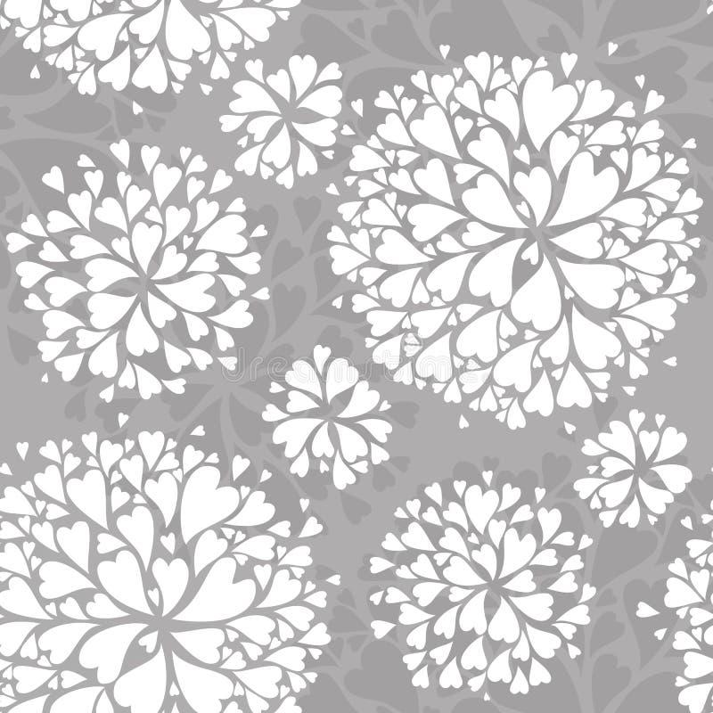 Romantisch patroon stock afbeelding