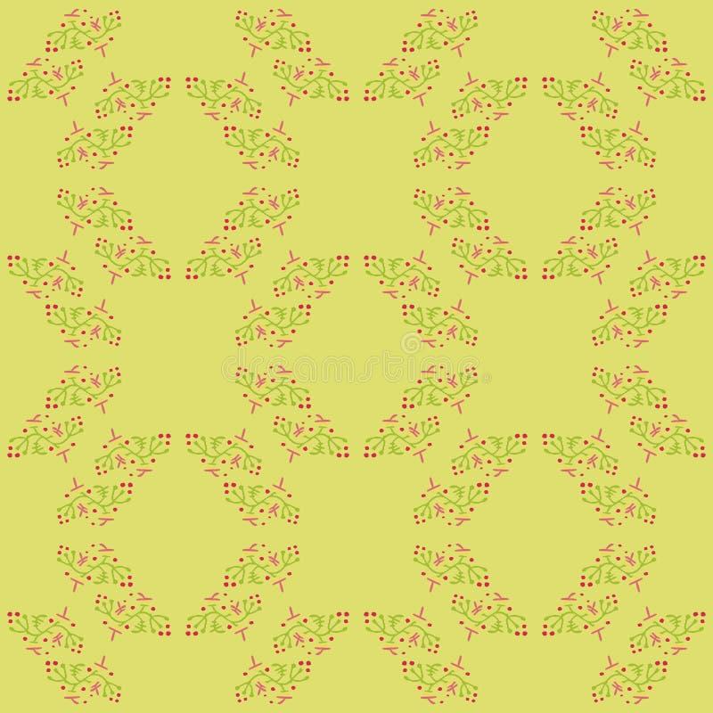 Romantisch patroon vector illustratie