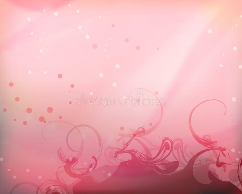 Romantische Achtergrond 01 royalty-vrije illustratie