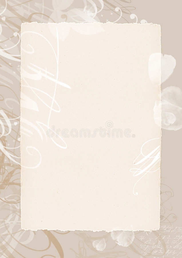 Romantische achtergrond vector illustratie
