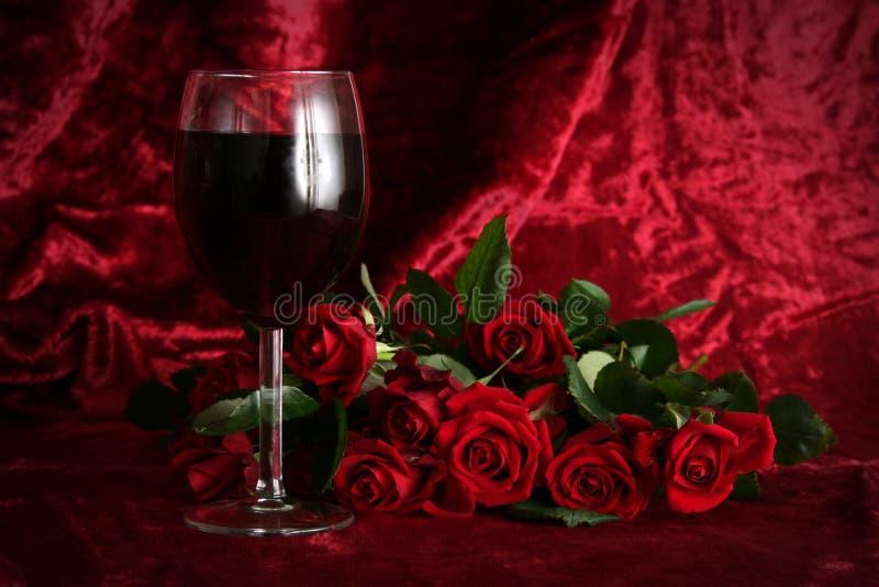 Romantische avond stock foto