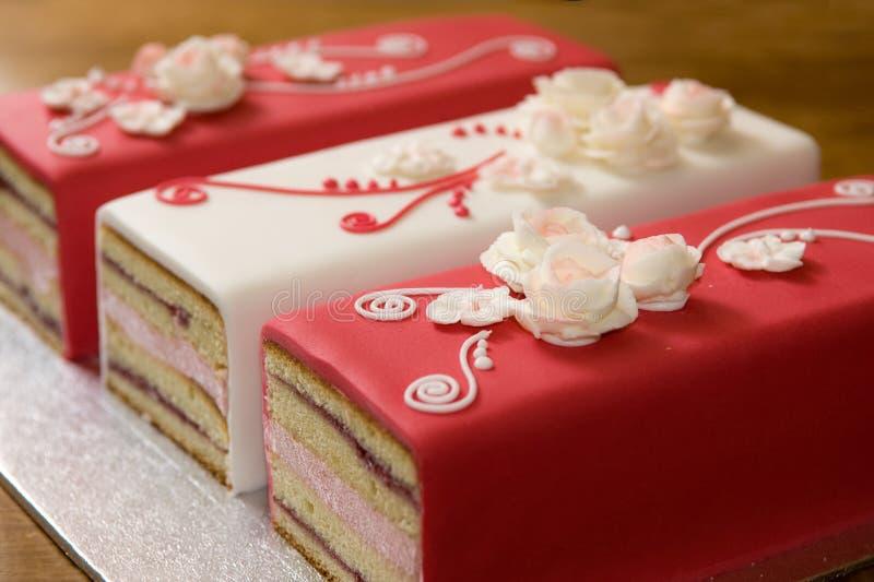 Romantische Cakes stock foto's