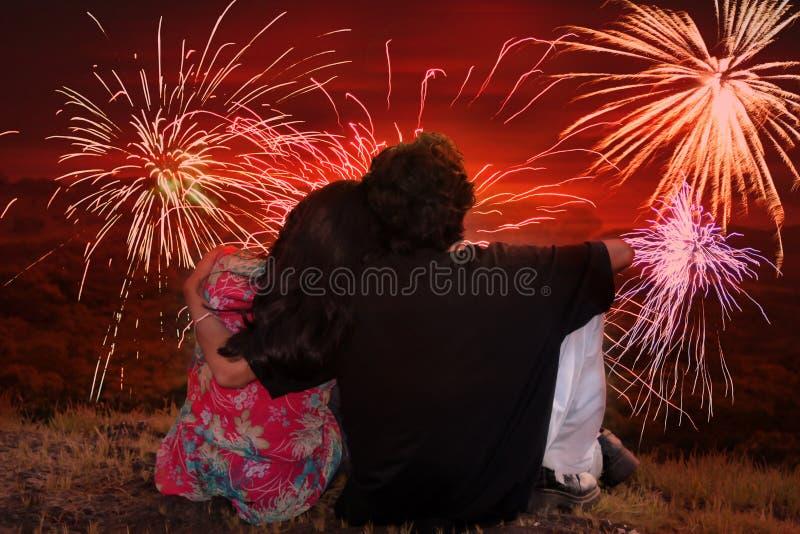 Romantische Diwali royalty-vrije stock foto's