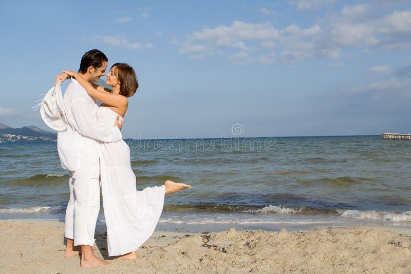 Romantische Ferien oder Flitterwochen stockbild