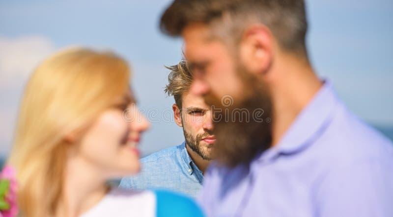 Flirten vor anderen