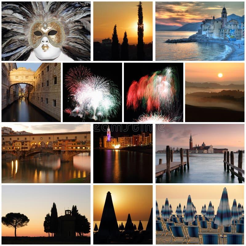 Romantische Italiaanse vakantie stock foto