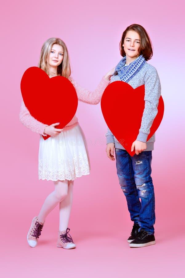 Romantische leeftijd royalty-vrije stock foto's