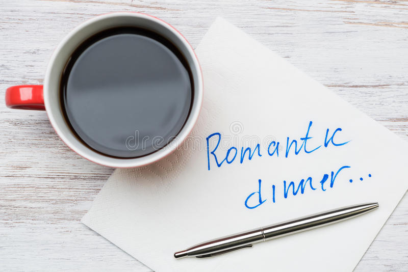 Download Romantische Mitteilung Geschrieben Auf Serviette Stockfoto - Bild von geständnis, groß: 96926286