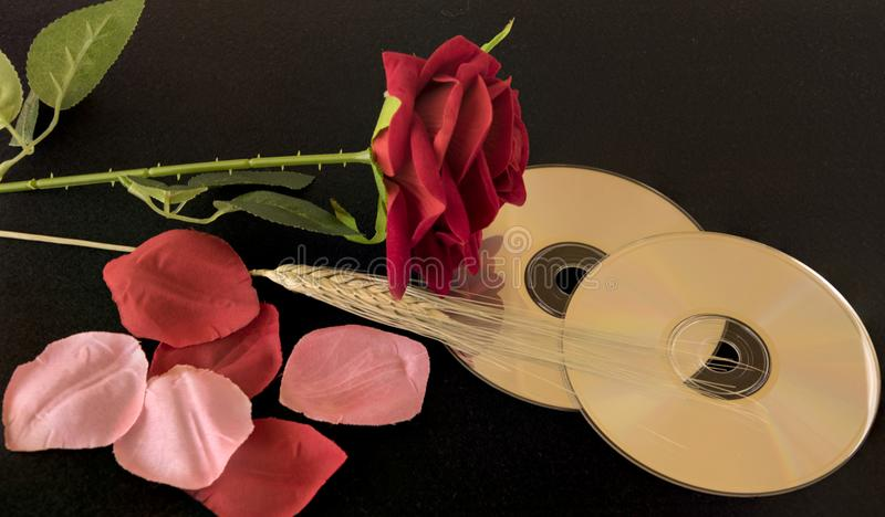 Romantische Musik lizenzfreie stockbilder
