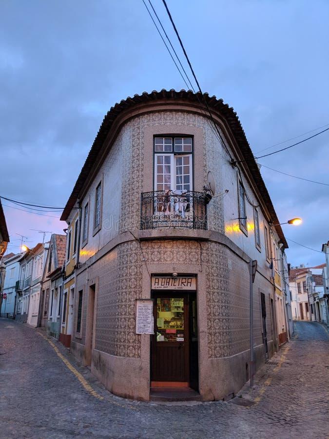 Romantische Stange in Portugal lizenzfreie stockbilder