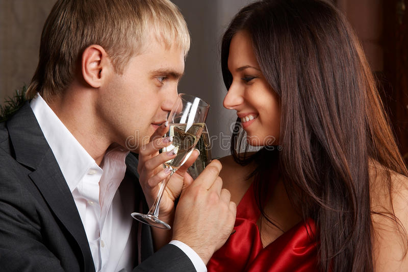 Romantischer Abend stockfoto