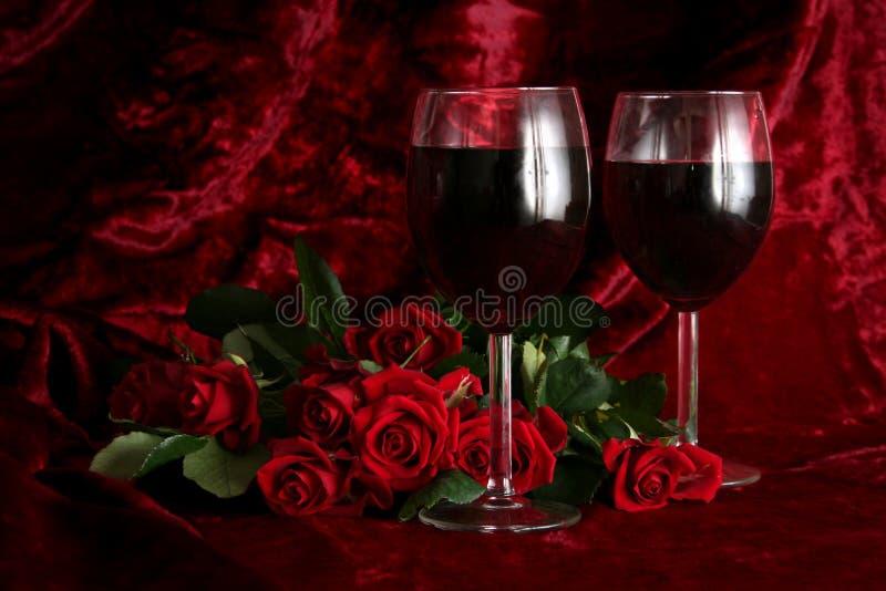 Romantischer Abend lizenzfreies stockfoto
