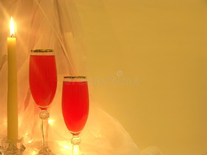 Romantischer Abend lizenzfreies stockbild